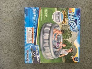 """H2o Go Inflatable Space Ship Pool Kids 60in. x 17in. 60"""" x 17"""" New Bestway for Sale in Riverside, CA"""