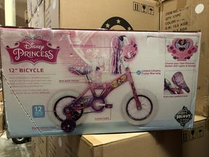 Brand New Disney ARIEL PRINCESS Sounds 12 inch Bike with Training Wheels for Kids for Sale in Covina, CA