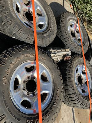 """Tires and wheels dodge 8 lug 17"""" for Sale in Wildomar, CA"""