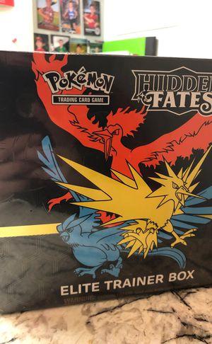 Pokemon Hidden Fates Elite Trainer Box CHEAP SEALED for Sale in Frisco, TX