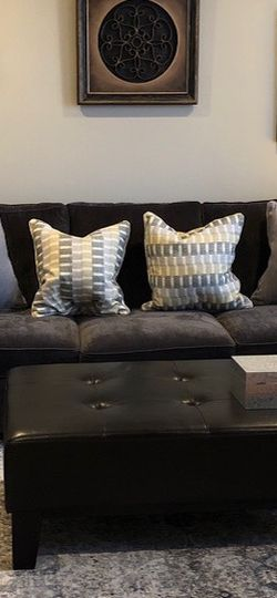 Large Dark Grey Couch for Sale in Revere,  MA