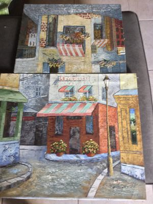2 oil paintings for Sale in Boonville, IN