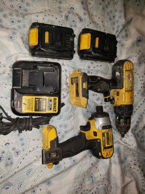 Dewalt 20 volt Impact &Drill/batteries for Sale in Citrus Heights, CA