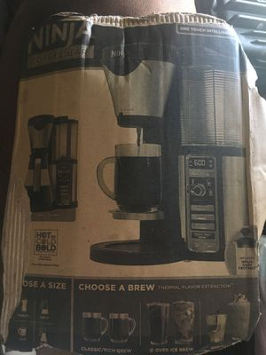 Ninja coffee maker for Sale in South San Francisco, CA