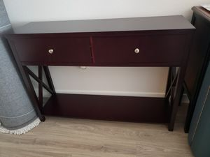 Dark Espresso Stain Console Table for Sale in Seattle, WA
