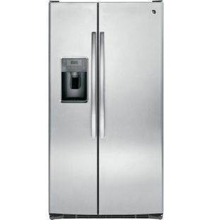 Gss25gshss – Ge® 25.3 Cu. Ft. Side-by-side Refrigerator for Sale in Portland, OR
