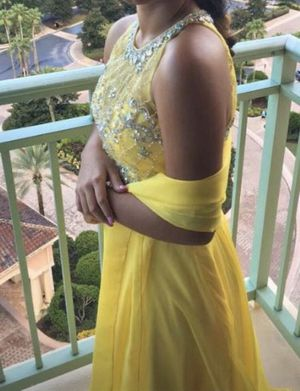Yellow Prom Dress for Sale in Kissimmee, FL