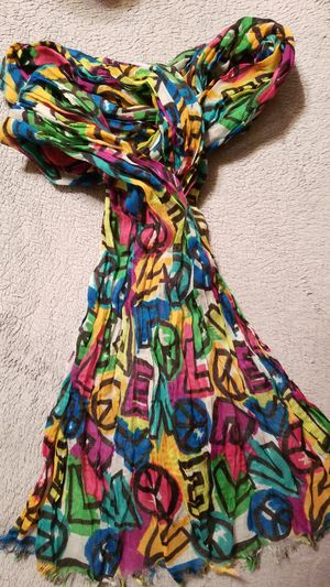 Peace Sign Scarf for Sale in Frederick, MD