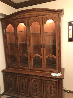 Antique china cabinet for Sale in Littleton, CO