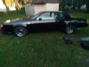 1986 3.8 SFI TURBO BUICK GRAND NATIONAL NREDS A WIRING HARDEST , REBUILT MOTOR HAS ALL ORIGINAL SETS NEEDS SOME TLC for Sale in Tampa, FL