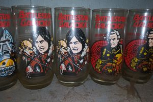 Battlestar galactica glass collection for Sale in Centreville, IL