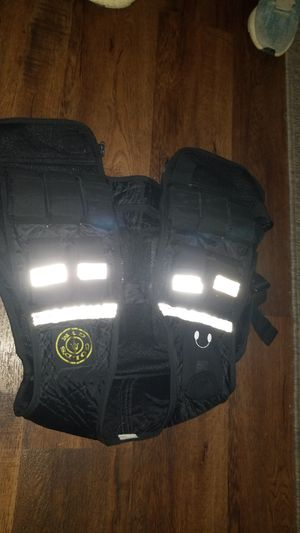 Gold gym weight vest for Sale in Arlington, TX