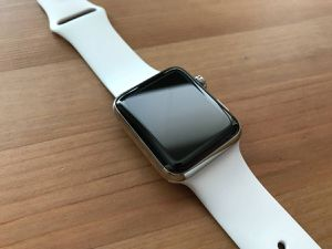 Apple Watch series 3 42mm Stainless Steel silver for Sale in Concord, CA