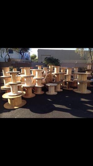 Wooden spools/tops for sale for Sale in Scottsdale, AZ
