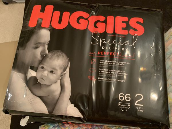 Huggies special delivery diapers and Honest
