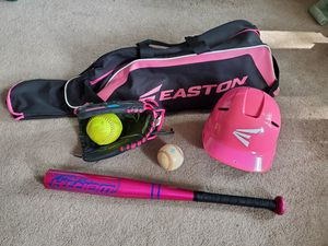 Softball/tball equipment for Sale in Ingleside, IL