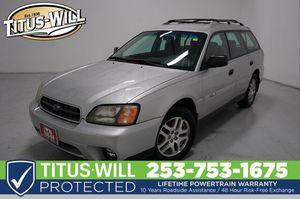 2004 Subaru Legacy Wagon for Sale in Tacoma, WA