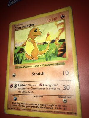 charmander pokemon card 46/102 for Sale in Essex, MD
