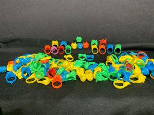Halloween Treats - Over 100 Hard Plastic Rings for Sale in Lenexa, KS