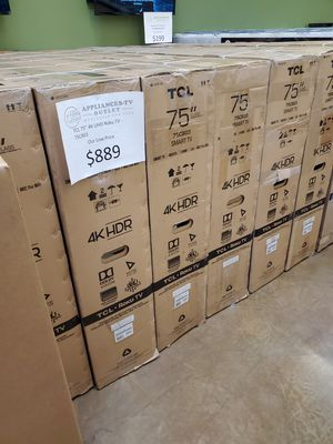 """TCL 75"""" 4K UHD Roku TV for Sale in Anaheim, CA"""