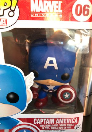 Captain America Pop for Sale in Fillmore, CA