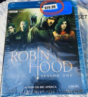 ROBIN HOOD - Season One - Blu-Ray - 4 Disc Set - $59.99 for Sale in Dallas, TX