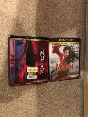 Mulan-Disney Live Action ( 4K Ultra HD+Blu-ray) Brand new for Sale in Santa Ana, CA
