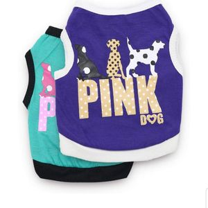DroolingDog Dog Pink Dog Shirts Dog Clothes Small Dogs, Pack of 2 for Sale in Nellis Air Force Base, NV