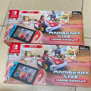 Mario Kart Live Home Circuit Nintendo switch New for Sale in Miami, FL
