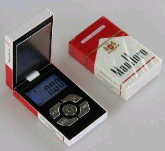 Marlboro pack mini scale