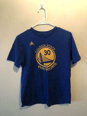Used (normal wear) Adidas Golden State Warriors T-Shirt, Kids size L for Sale in Seattle, WA