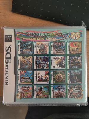 Nintendo DS 208 in 1 Game Cartridge. Pokemon, Mario, Zelda, Kirby for Sale in Escondido, CA