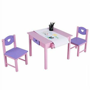Kids Art Table and Chairs Set for Learning Playing Eating for Sale in Los Angeles, CA