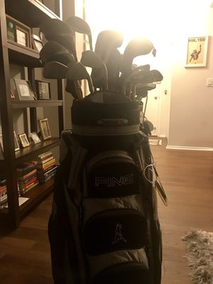 Lefty Ping G10 Golf Clubs and Odyssey #1 White Hot Putter for Sale in Chicago, IL