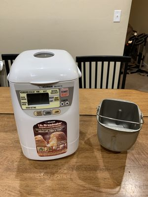 Zojirushi BB-HAC10 1 lb Compact Bread Dough Maker Mixer Cooker Tested Works for Sale in Newark, CA