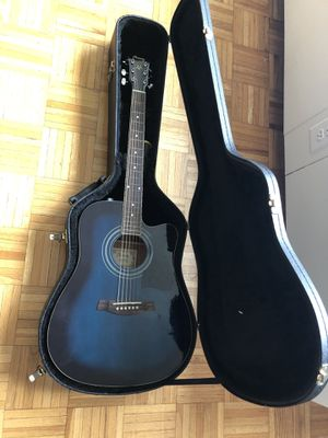 Acoustic guitar with case, Ibanez for Sale in Boston, MA