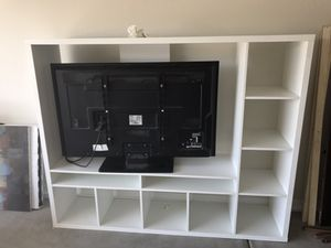 Tv and stand for Sale in Phoenix, AZ
