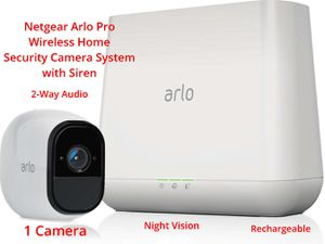 Arlo Pro Wireless Home Security Camera System with Siren for Sale in Springdale, MD