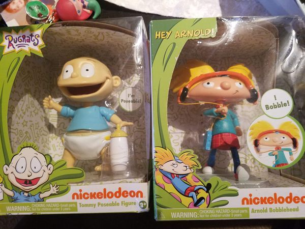 2 new in box rugrats toys