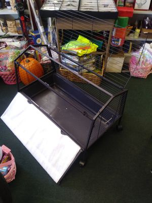 Rolling pet cage for Sale in North Attleborough, MA