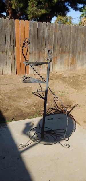 Metal plant spiral stand holder for Sale in Fresno, CA