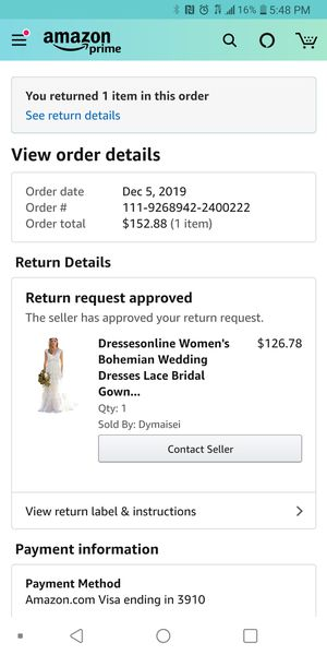 Wedding Dress - Size 6 Brand New for Sale in Portland, OR