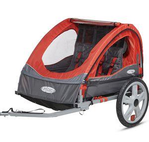instep take 2 double seat foldable bike trailer for Sale in Lakewood, WA