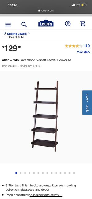 Ladder Shelf for Sale in Baltimore, MD