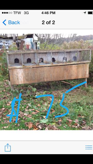Rabbit chicken hutch for Sale in Horseheads, NY