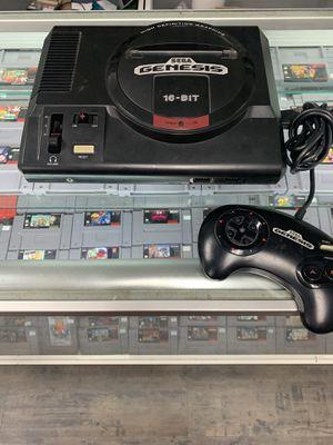 Sega Genesis Complete $60 Gamehogs 11am-7pm for Sale in Los Angeles, CA