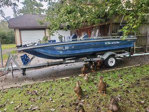 1980 cajun bass boat for Sale in Lumberton, TX