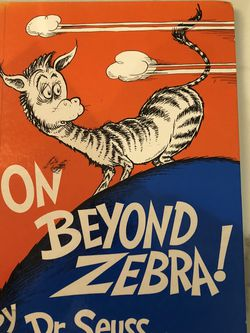 On Beyond Zebra ( Banned Book ) for Sale in Miami,  FL
