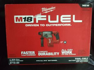 "M18 1"" SDS plus Rotary hammer for Sale in UNIVERSITY PA, MD"