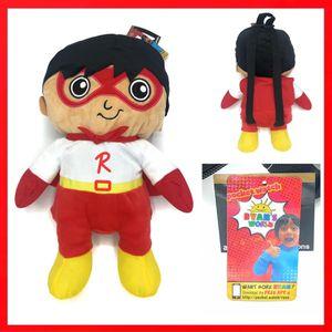 Brand NEW! Ryan's World soft toy plush Backpack kid's bag YouTube Ryan Kaji for Sale in Carson, CA